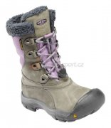 Keen Basin WP (Grey/Orchid) Kids´ Boots - 22,5 cm