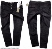 SUPER KALHOTY KNITTED SKINNY DENIM CO VEL 38
