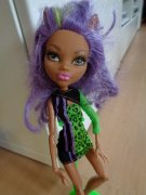 PANENKA CLAWDEEN WOLF MONSTER HIGH