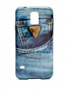 Telefonní obal GUESS Denim Galaxy S5 Hard-Shell