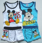 Set tílko a boxerky Mickey Mouse