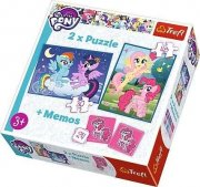 Puzzle a hra 90601 My little pony a memo 2v1