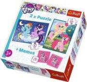 Puzzle My Little Pony 2v1 + pexeso