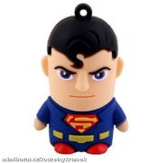 USB FLASH DISK 8 GB - SUPERMAN - JEN 1 KUS!!!