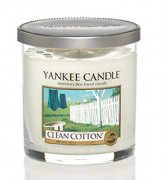 Clean cotton malý décor Yankee candle