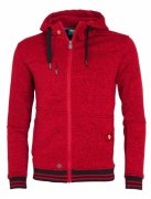 Pánská mikina Fellas Fleece Men´s RED WOOX