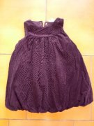 Eagle Lt Dress balonové saty plum 86/92 n o v é é