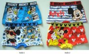 Boxerky Mickey Mouse, 2-Pack, 2/3 roky