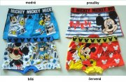 Boxerky Mickey Mouse, 2-Pack, 4/5 let