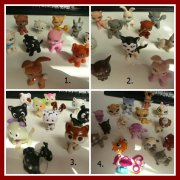 Figurky LPS Little pet shop č.1 + 5