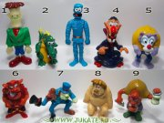 Kinder figurky - Monster Hotel, 2005