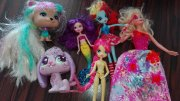 * Barbie,  LPS,  My Little Pony Equestria girl *