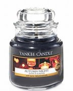 Svíčka YANKEE CANDLE malá AUTUMN NIGHT ,104 gr