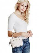 Crossbody kabelka GUESS Jordyn Mini Dome Satchel