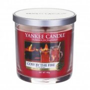 Cosy by the fire malý decór Yankee candle