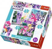 Puzzle 34823 - My little Pony 3 v 1, 20 , 36, 50 d