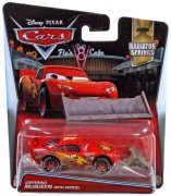 CARS LIGHTNING McQUEEN / BLESK WITH SHOVEL