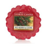 Red berry & cedar vonný vosk Yankee candle