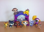LPS littlest pet shop sada 9 figurek +  mimi