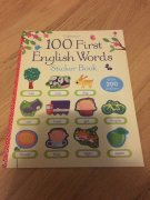 100 First English Words