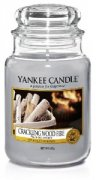 Crackling wood fire velký classic Yankee candle