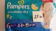 Plenky PAMPERS vel. 6 15 +  kg 25 ks