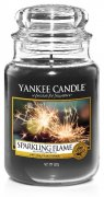 Sparkling flame velký classic Yankee candle