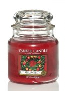 Red apple wreath střední classic Yankee candle
