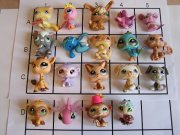 lps littlest pet shop raritni pes kocka