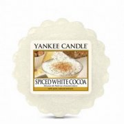 Vonný vosk YANKEE CANDLE- SPICED WHITE COCOA