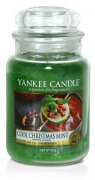 Cool Christmas mint velký classic Yankee candle