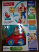 N.O.V.É. Fisher Price Pejskovo chodítko smart