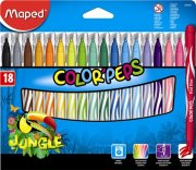 Maped 18 ks fixy COLOR´PEPS Jungle