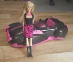 Auto Monster High s Barbie