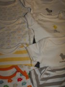 8 x body MOTHERCARE, new baby