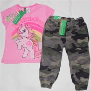 Benetton růžové tričko My little pony