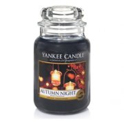 Autumn night velký classic Yankee candle