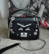 Guess Cyber Rock Convertible crossbody kabelka IHN