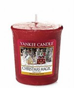 Votivní svíčka YANKEE CANDLE - CHRISTMAS MAGIC