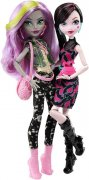 Monster High rivalky Draculaura a Moanica D´Ka