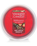 Red apple wreath meltcup Yankee candle