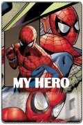 Polar fleece deka SPIDERMAN MY HERO 100x150