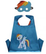 KOSTÝM na tábor -MY LITTLE PONNY-Rainbow Dash UNI