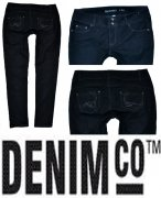 Džíny s elastanem zn. DENIM CO vel. 44(16)