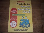 Practice for the Phonics Screening Check 5-7 let