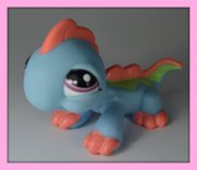 +++ LITTLEST PET SHOP - LPS - LEGUÁN +++