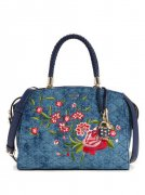 Kabelka GUESS Heather Embroidered Satchel