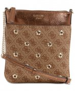 Kabelka GUESS Sibyl Mini Signature Crossbody