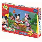PUZZLE MICKEY MOUSE A MINNIE - 66 DÍLKŮ