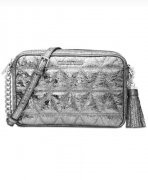 MICHAEL KORS Silver Camera crossbody IHNED